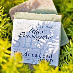 BLUE EUCALYPTUS & LAVENDER SOAP