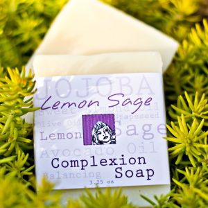 Lemon Sage Handcrafted Soap Bars