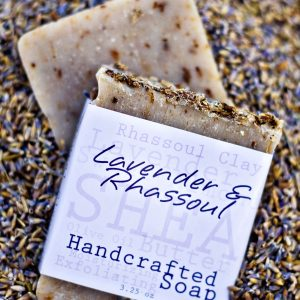 RHASSOUL & LAVENDER SOAP