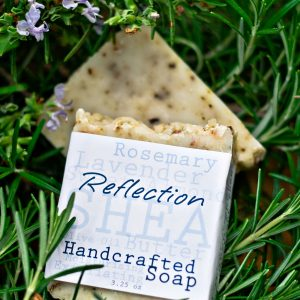 Reflection-Handcrafted-Soap-Made-With-Rosemary