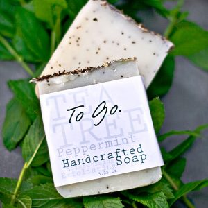 TO Go Handcrafted soap with Tea Tree